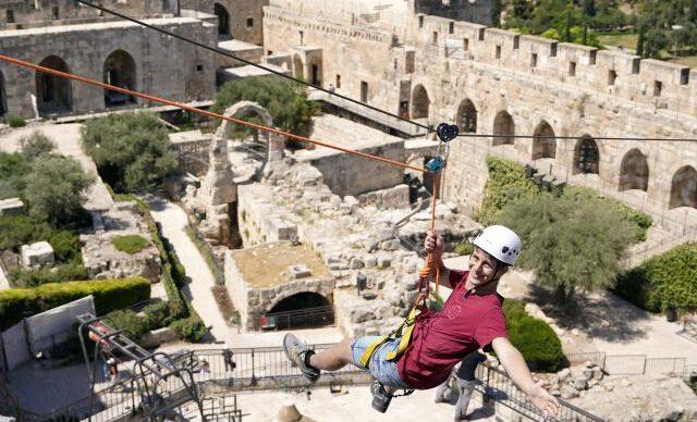 מוזיאון מגדל דוד בפסטיבל גגות